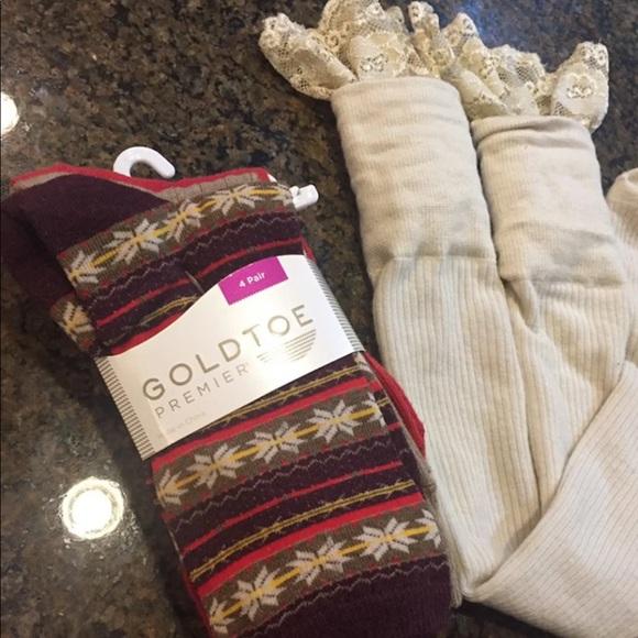 Gold Toe Accessories - New Socks & Lace Boot Socks